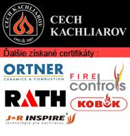 Získané certifikáty